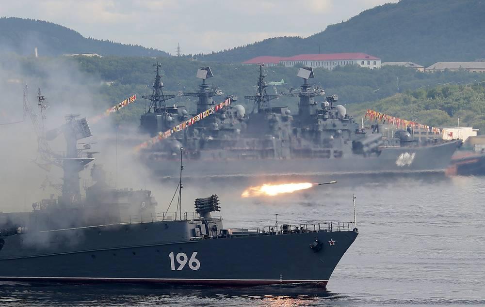 """Малый противолодочный корабль """"Снежногорск"""""""