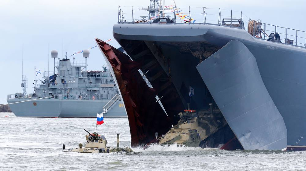 """Большие десантные корабли — """"рабочие лошадки"""" российского флота"""