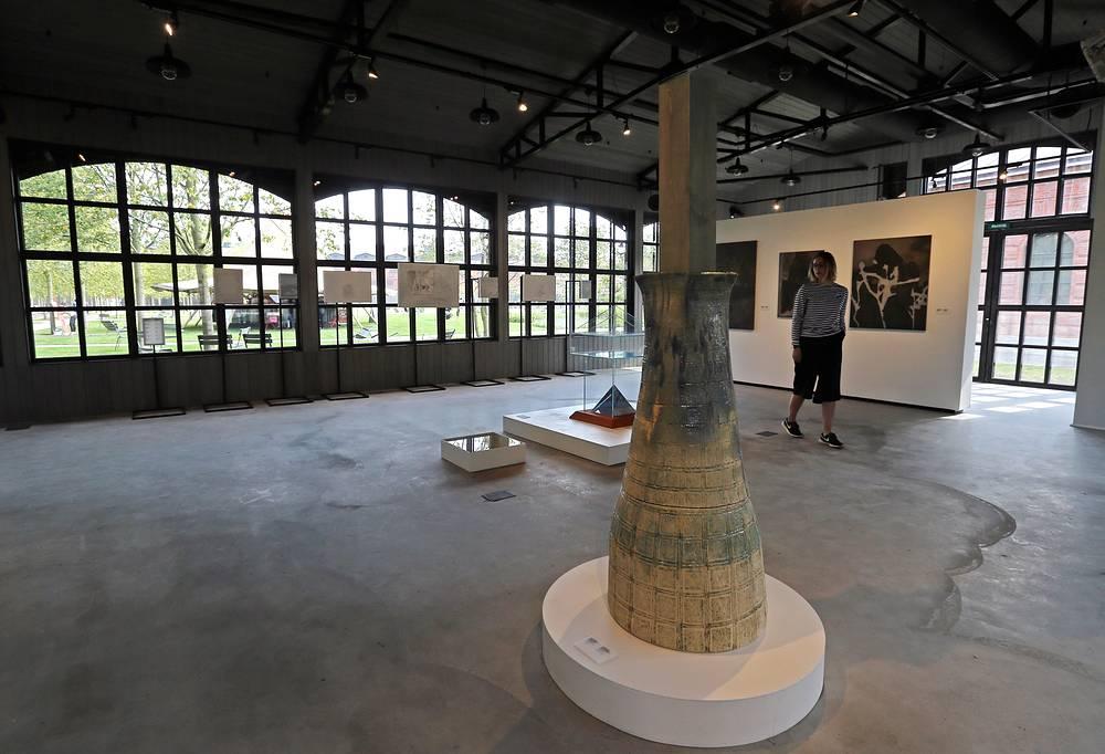 Музей современнго искусства на территории бывшего закрытого военного острова Новая Голландия