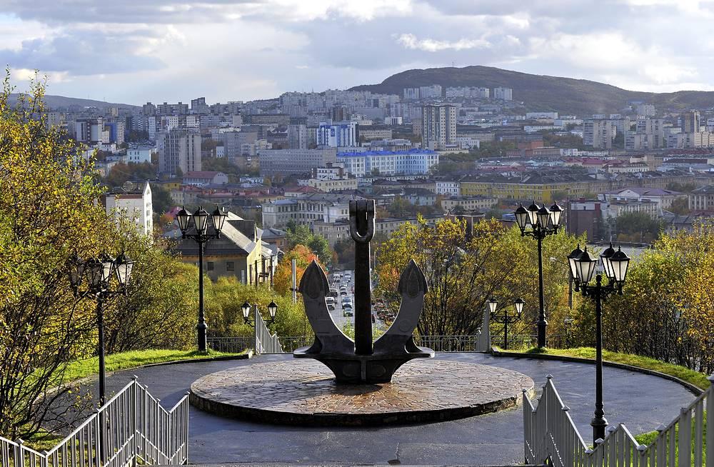 Мемориальный комплекс погибшим в мирное время морякам