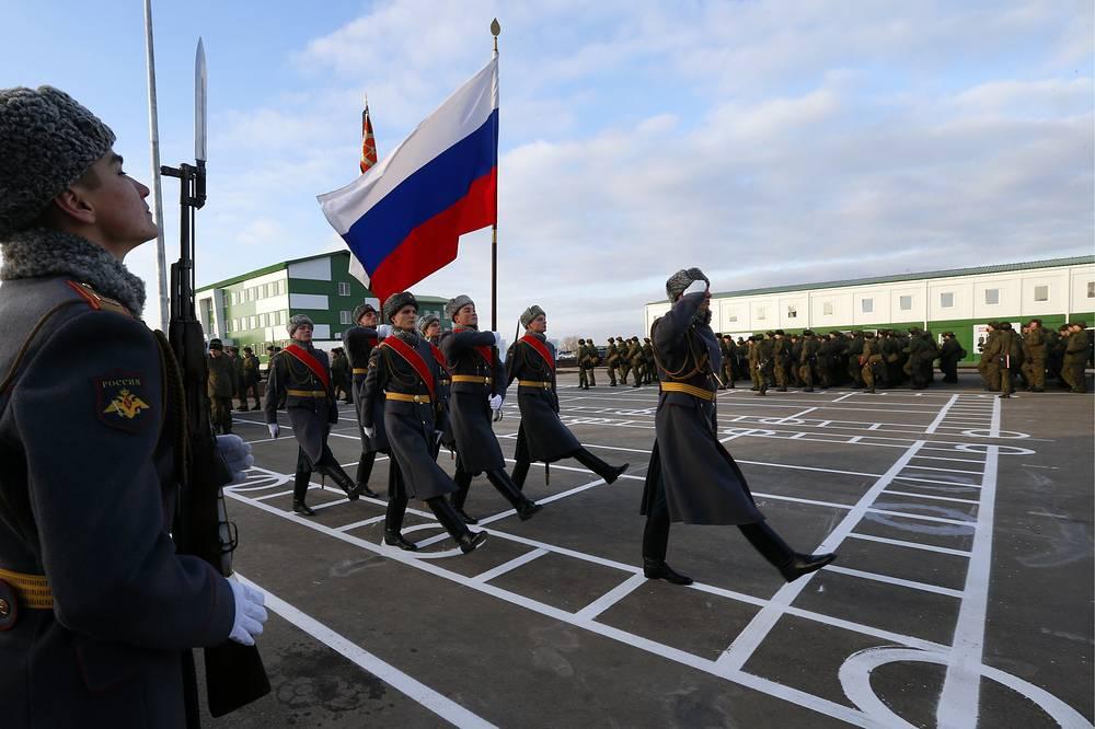 Наюге Российской Федерации воссоздали легендарную дивизию