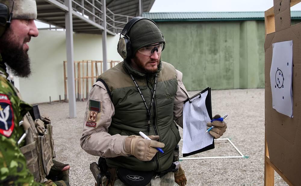 Во время занятий по стрелковой и тактической подготовке