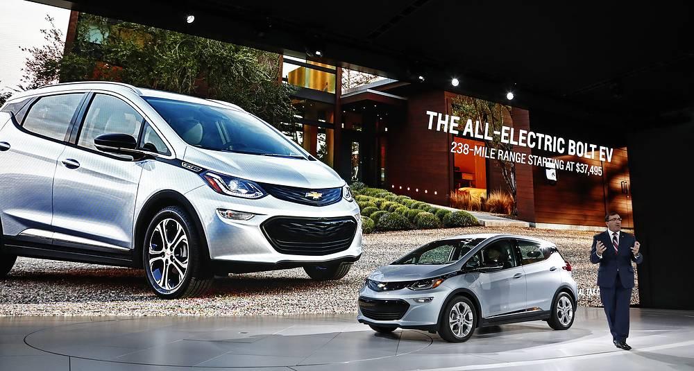 "Chevrolet Bolt - ""автомобиль года"""