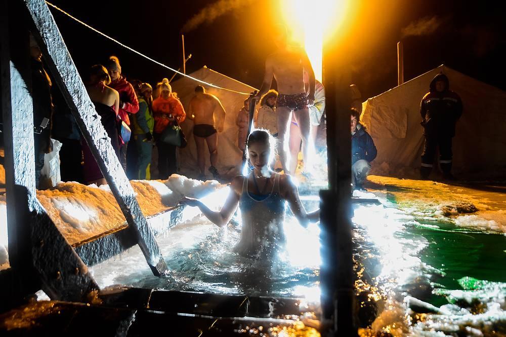 Празднование Крещения Господня во Владивостоке