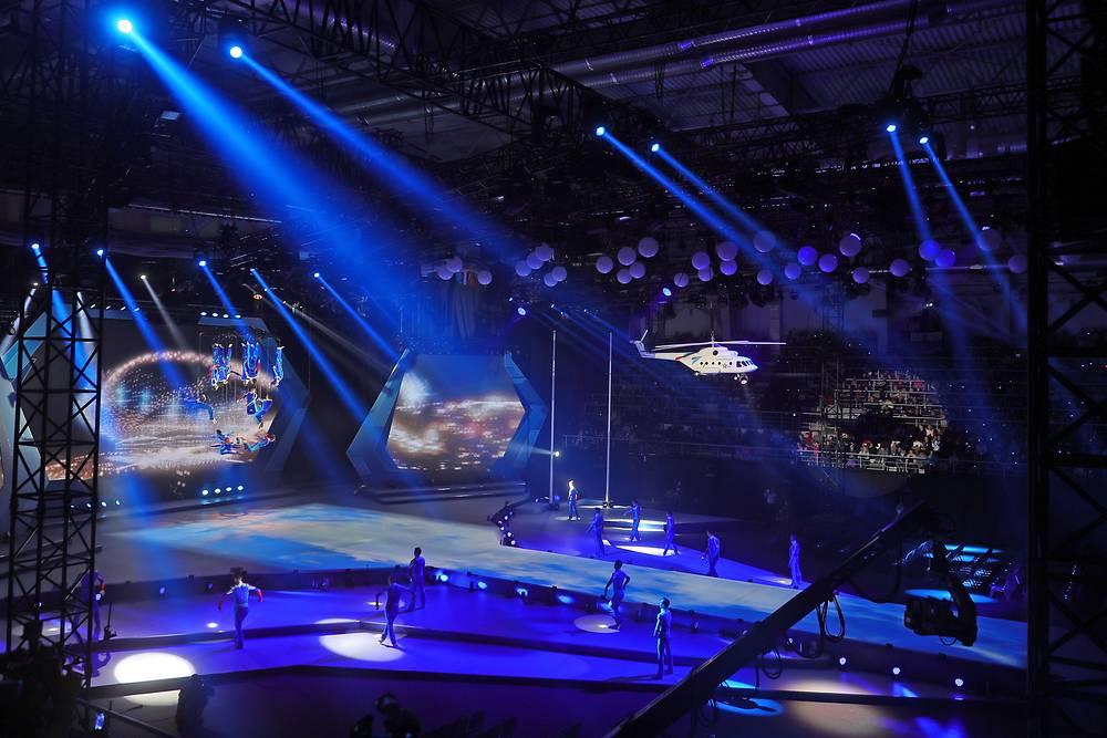 На церемонии открытия Всемирных военных игр