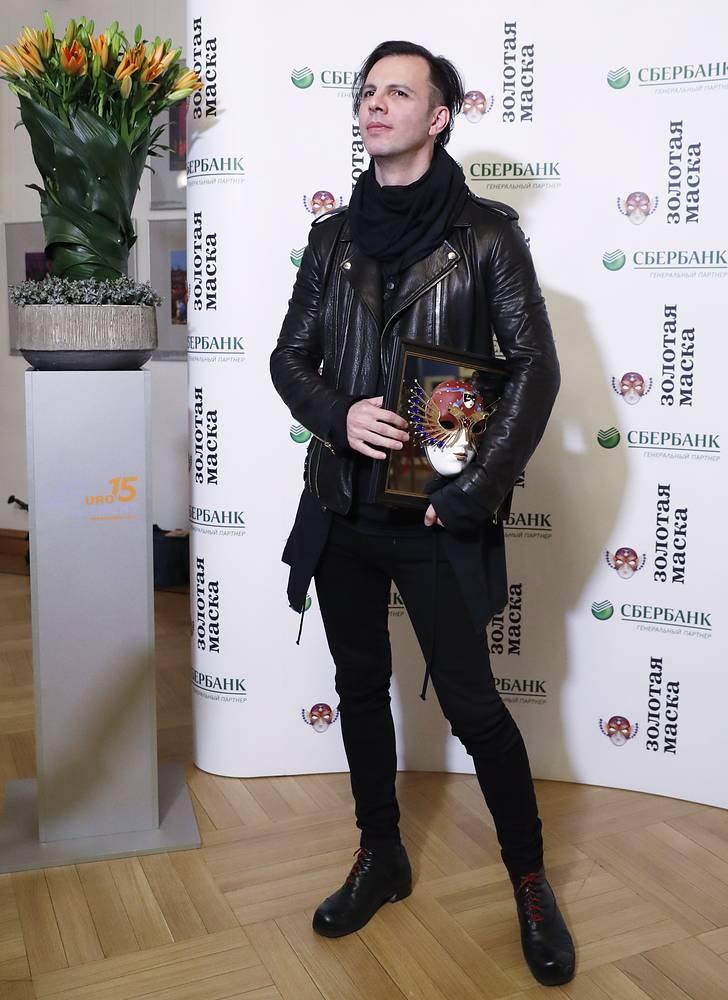 """Дирижер Теодор Курентзис, ставший лауреатом в номинации """"Опера/Работа дирижера"""""""