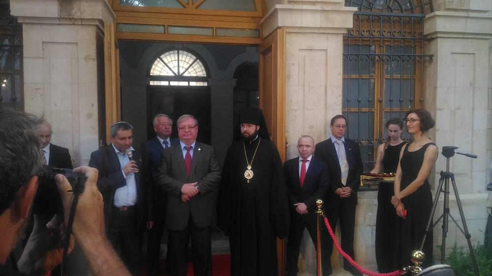 Председатель ИППО Сергей Степашин (в центре)