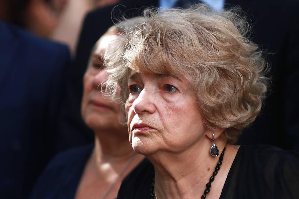 Вдова Ф.Искандера поэтесса Антонина Хлебникова