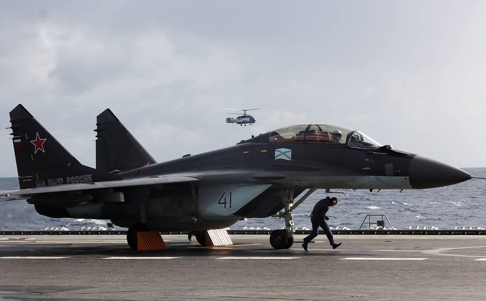 Палубный истребитель четвертого поколения МиГ-29КУБ