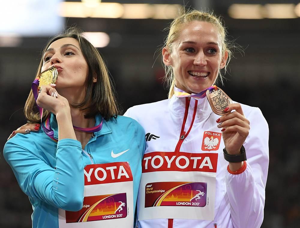 Мария Ласицкене и Камила Лицвинко