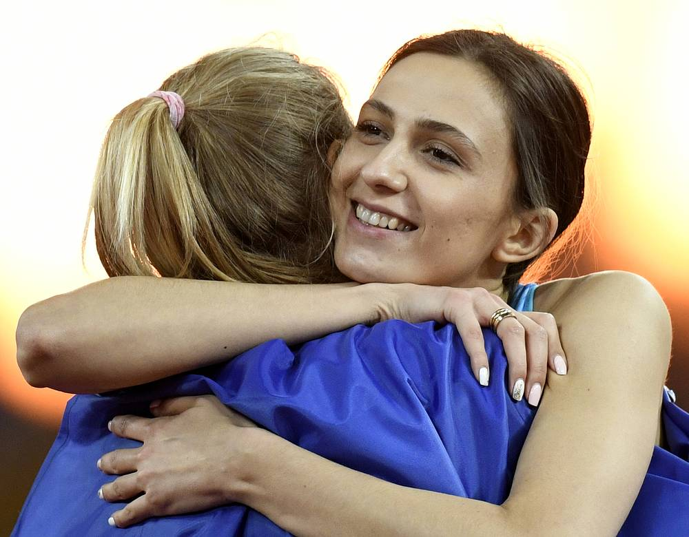Юлия Левченко и Мария Ласицкене