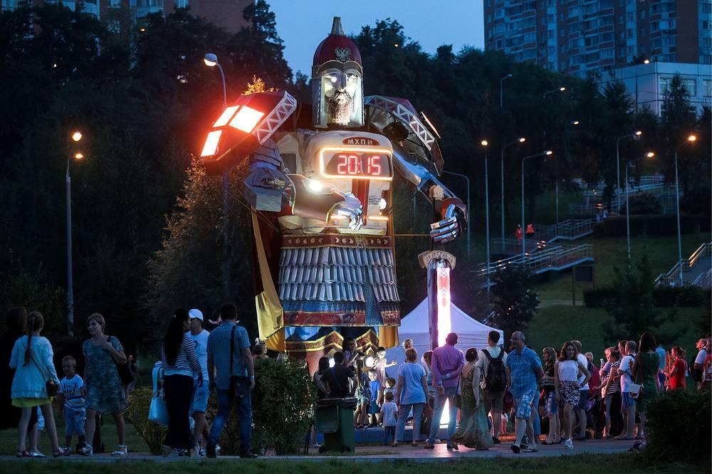Робот Юрий Долгорукий