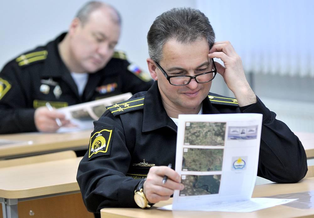 Во время Всероссийского географического диктанта в Нахимовском военно-морском училище, Мурманск