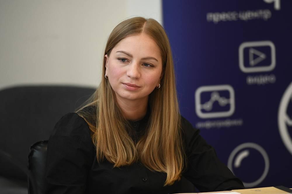 Шеф-редактор информационной службы ОТВ Ирина Щекатурова