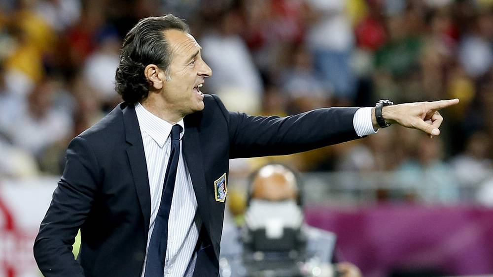 Матч сборной Италии и Англии