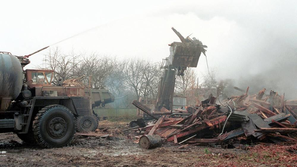 Снос домов, зараженных радиацией