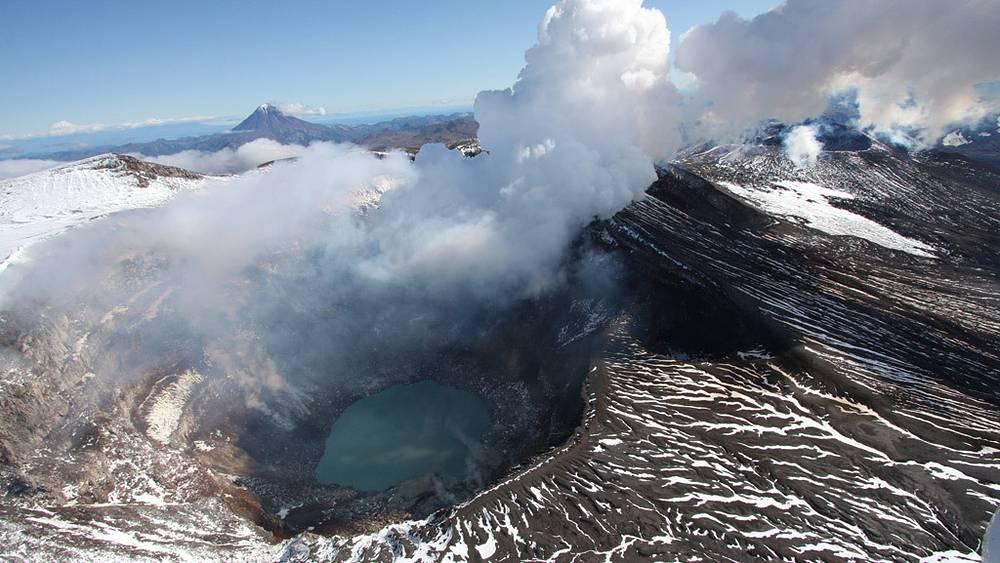 Вулканы на Камчатке