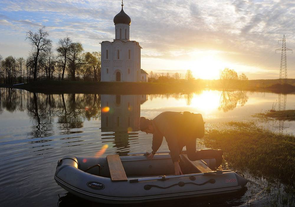 Россия. Владимирская область. Церковь Покрова на Нерли