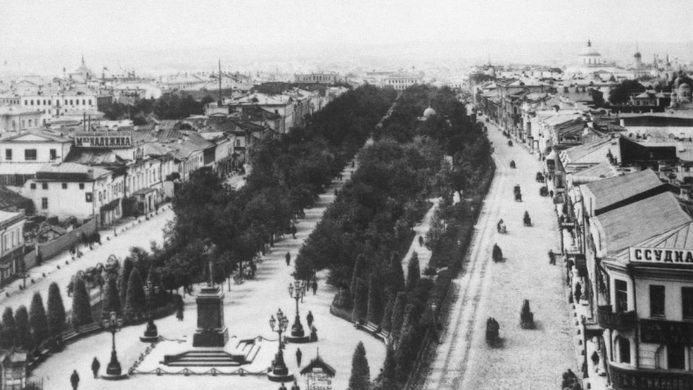 Тверской бульвар, 1888 год