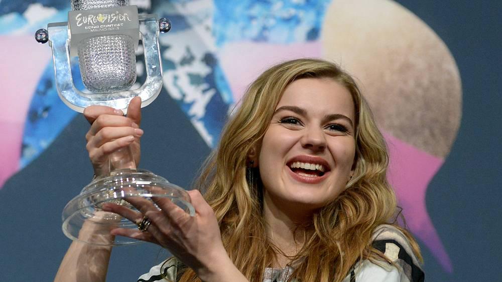 Эммили де Форест, занявшая первое место. Дания