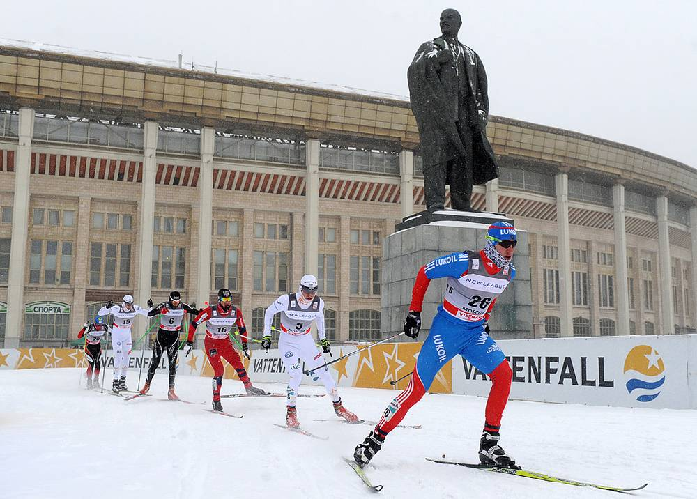 Этап Кубка мира по лыжным гонкам. 2012 год. Фото ИТАР-ТАСС/ Артем Коротаев