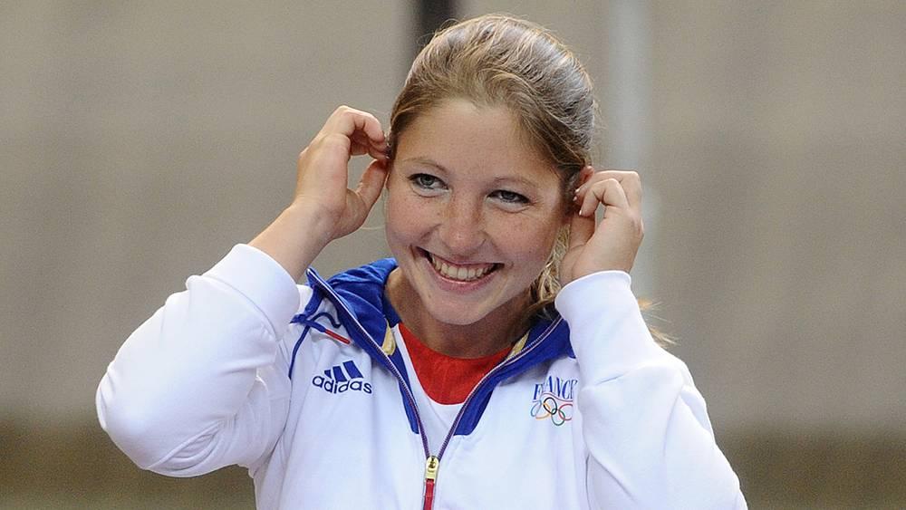 Француженка Селин Гобервилль, занявшая второе место