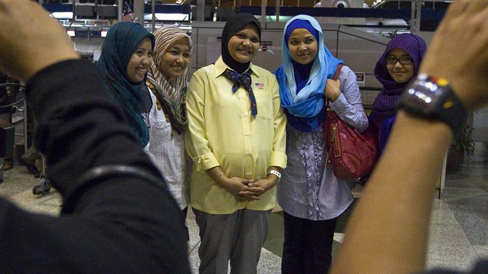 Нур Суриани Мохд Таиби, 34-я неделя беременности