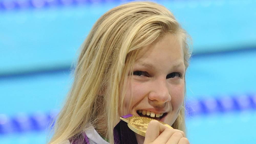 Спортсменка из Литвы Рута Мейлютите, выигравшая золотую медаль