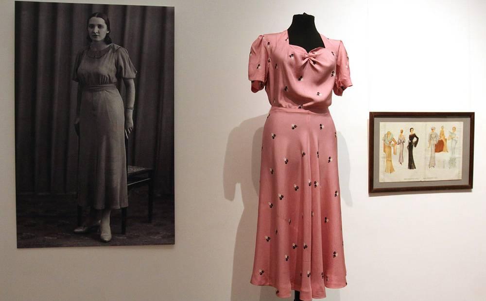 Платье 20-х годов из коллекции А. Васильева