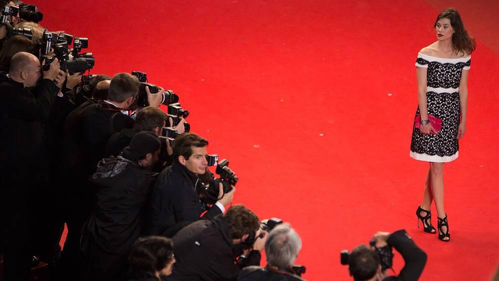 Фоторепортеры за работой