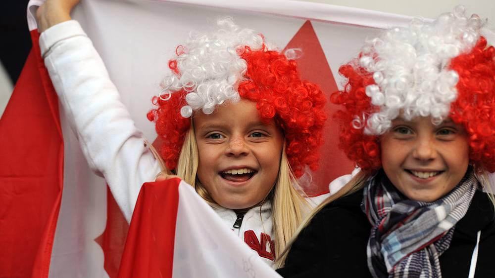 Канадские болельщики