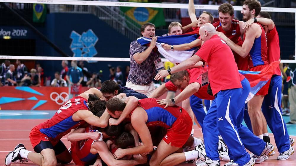 """Волейболисты взяли """"золото"""""""