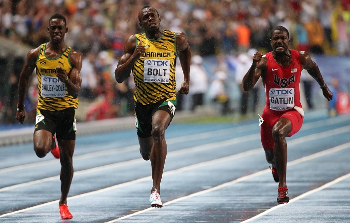 Будущие призеры на финишной прямой
