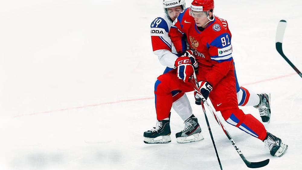 Хенрик Солберг и Евгений Кузнецов (слева направо)