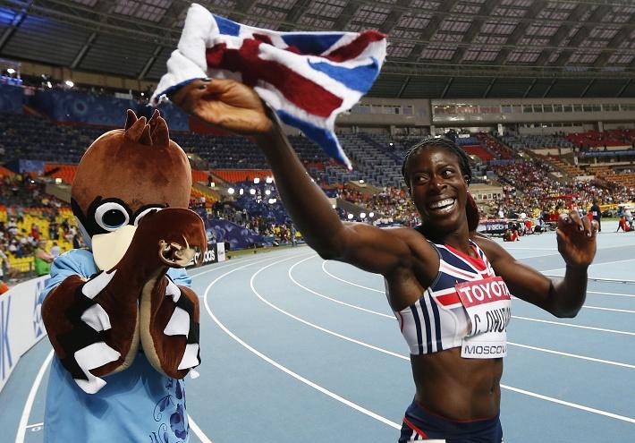 Победу в беге на 400 метров одержала британка Кристин Охуругу