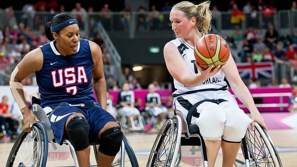Баскетбол Германия - США