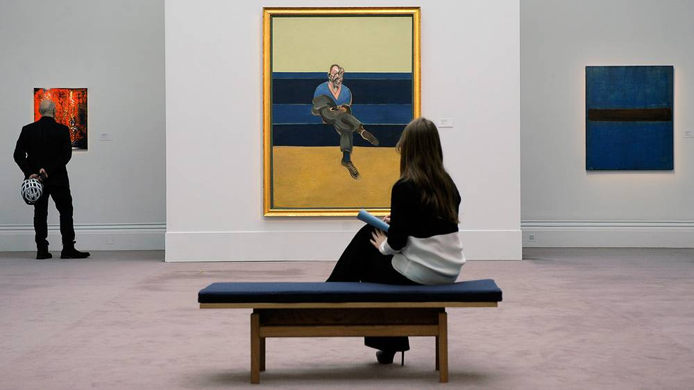 """Фрэнсис Бэкон.""""Эскиз к портрету П.Л."""""""