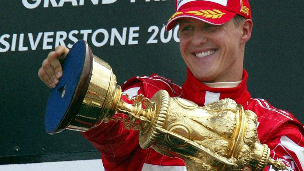 Победа Гран-при Великобритании 2004 год
