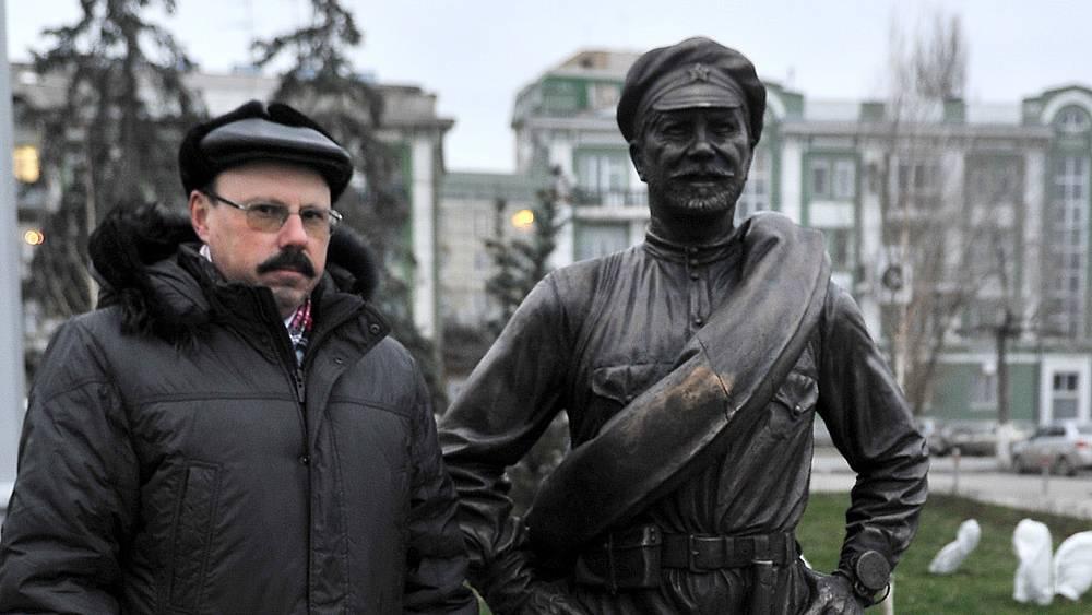 Скульптор Константин Чернявский