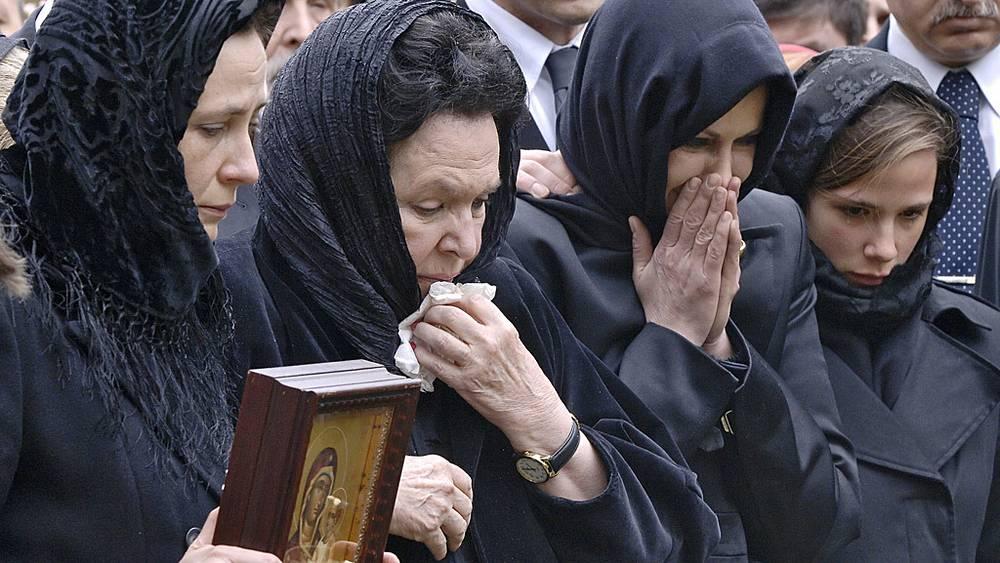 Похороны Мстислава Ростроповича