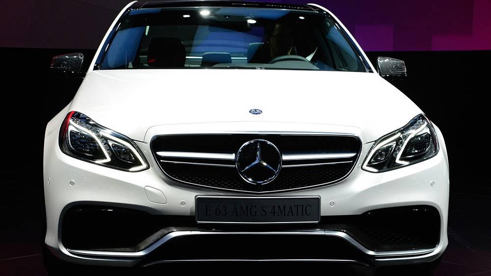 E 63 AMG Mercedes-Benz