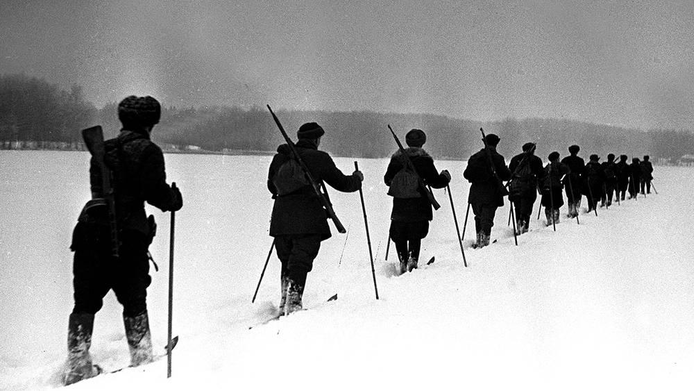 Партизаны в Подмосковье, 1941 год