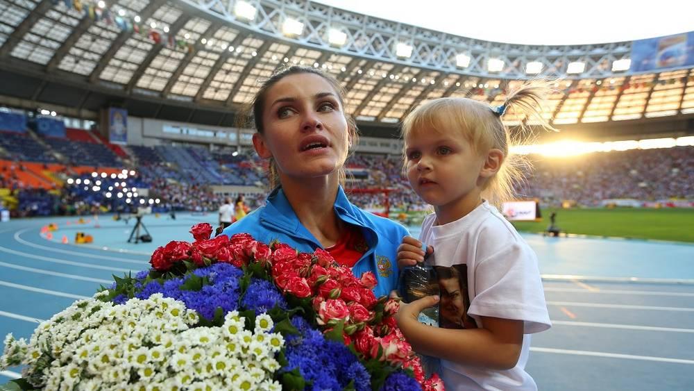 Анна Чичерова с дочкой Никой