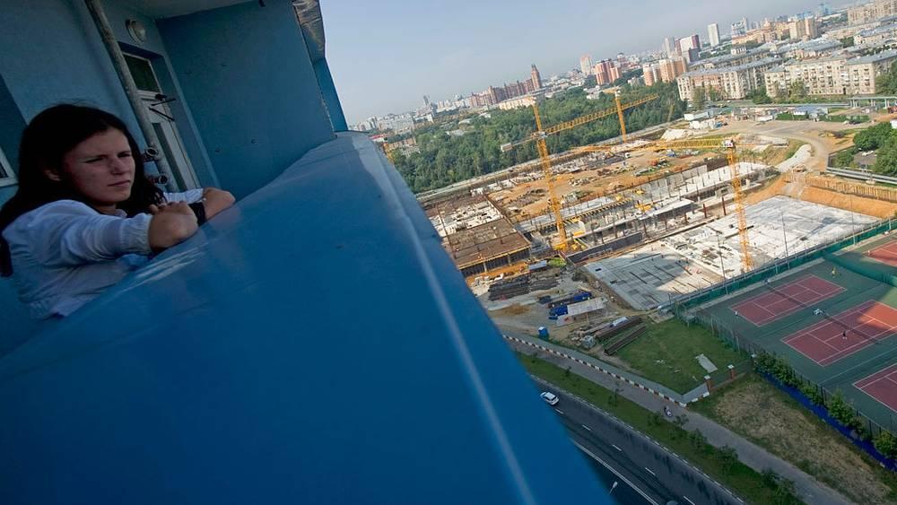 Строительство стадиона ЦСКА. Фото ИТАР-ТАСС/Сергей Бобылев