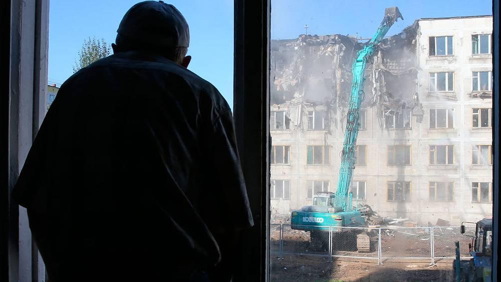 Снос пятиэтажек. Фото ИТАР-ТАСС/Артем Геодакян
