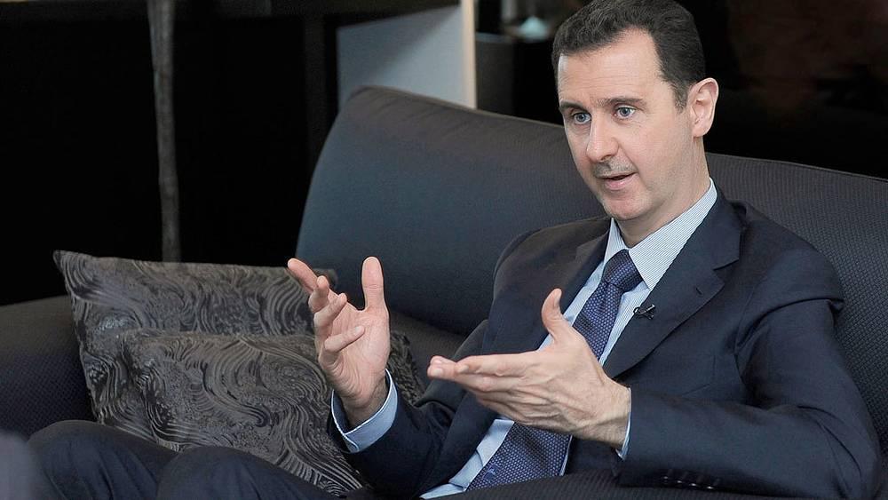 Башир Асад. Фото ЕPA/ИТАР-ТАСС