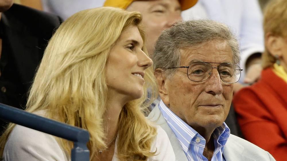 Тони Беннет с супругой Сьюзан Кроу. Фото EPA/ИТАР-ТАСС
