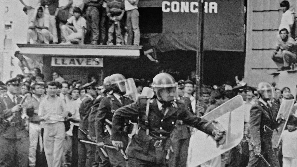 Сантьяго. 1972. Фото ИТАР-ТАСС