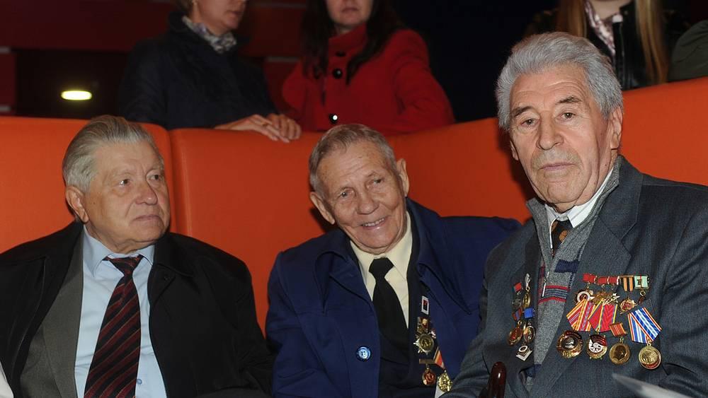 Ветераны Великой Отечественной войны. Фото ИТАР-ТАСС/ Дмитрий Рогулин