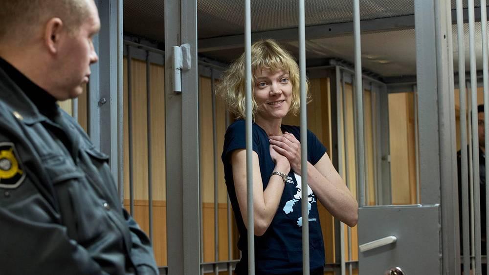 Сини Аннукка Саарела, Финляндия. Фото AP /Greenpeace